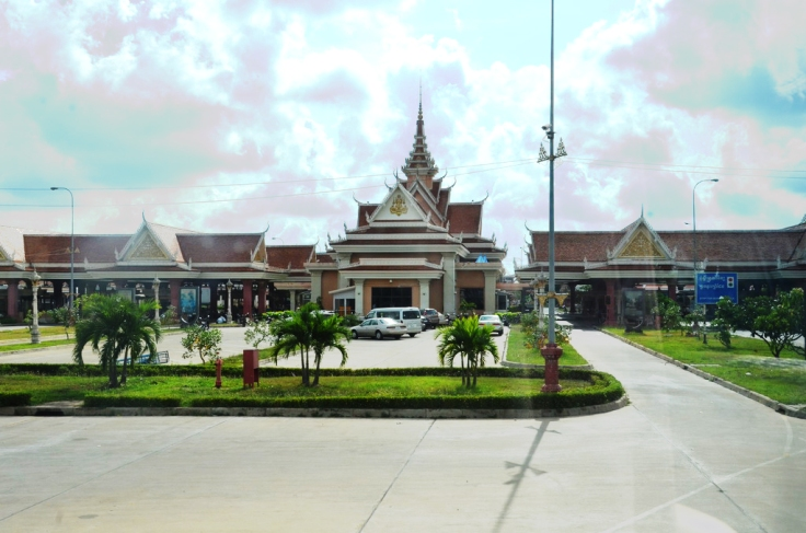 Bavet International Checkpoint, Svay Rieng, Cambodia